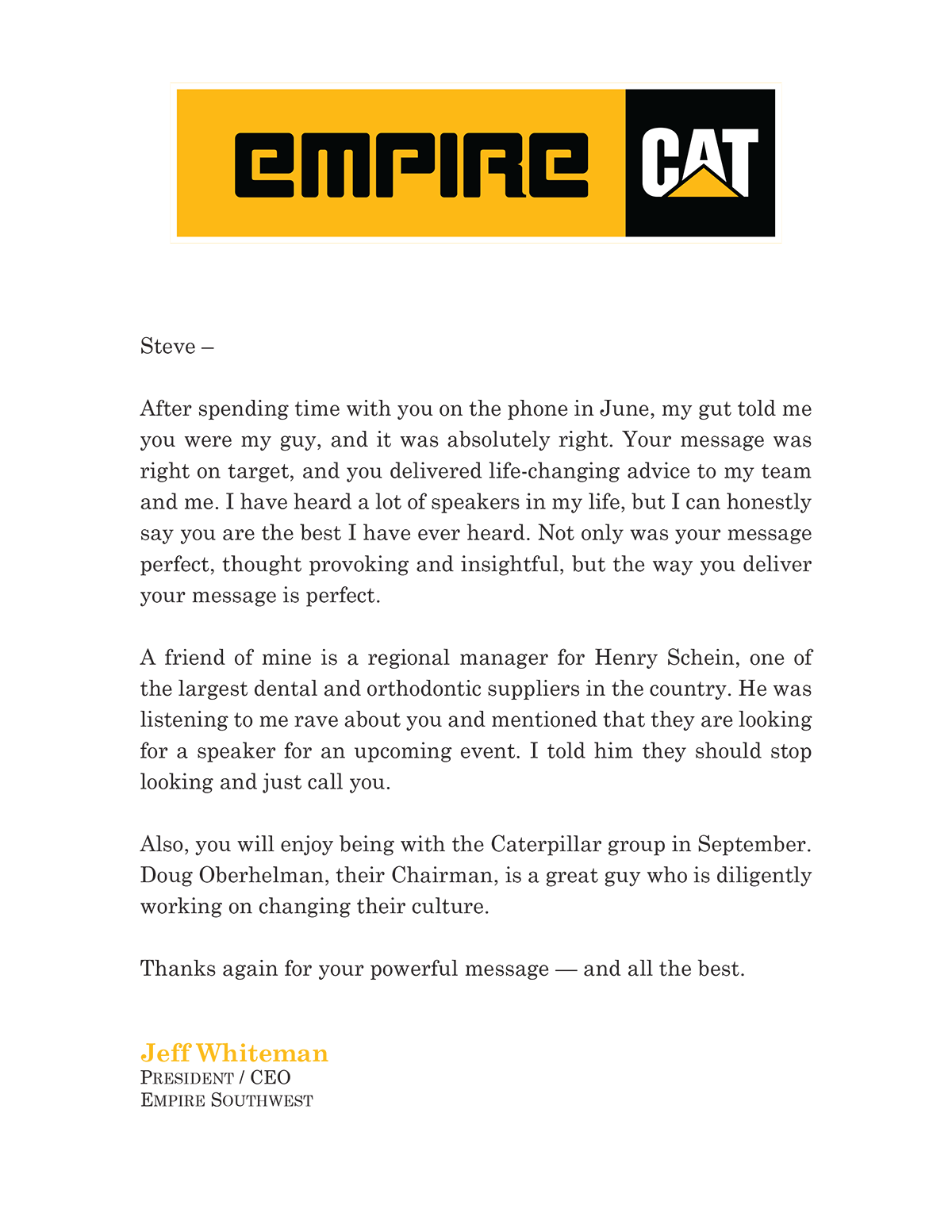 Empire Southwest